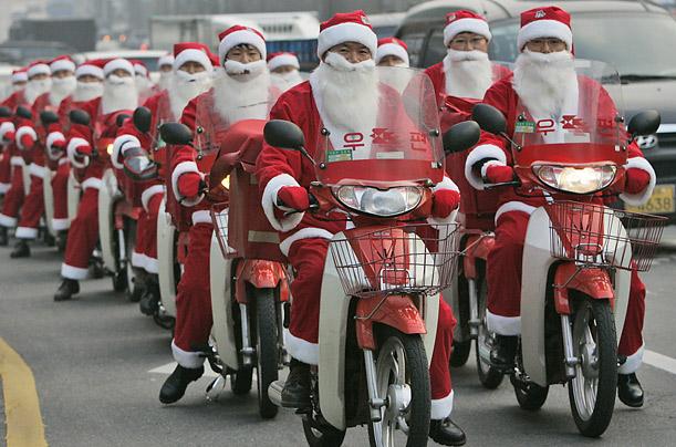 In Japan there s Santa s